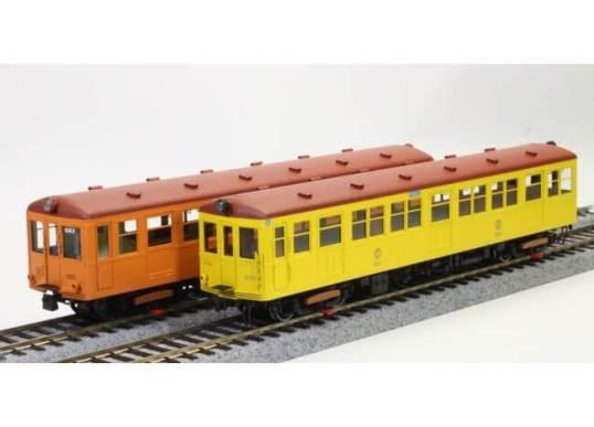 銀座線1000形180HOゲージ鉄道模型(イメージ 左 最終タイプ、右 初期タイプ)