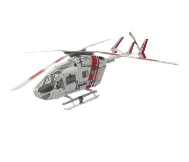 BK117C-2(ドクターヘリ仕様)のペーパークラフト