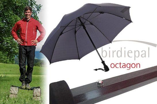 ドイツ・ブランドEuroSchirm(ユーロシルム)の雨具「バーディパル・オクタゴン」