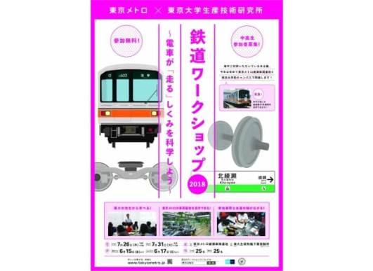 鉄道ワークショップ2018 開催!