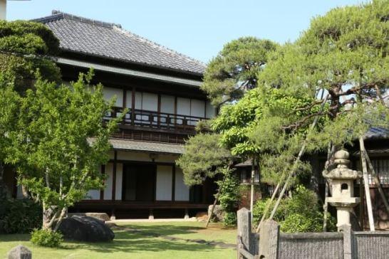 和風の造りが美しい旧堀田邸