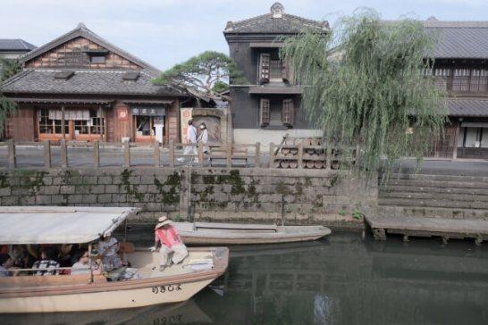重要伝統的建造物群保存地区である佐原という街並み
