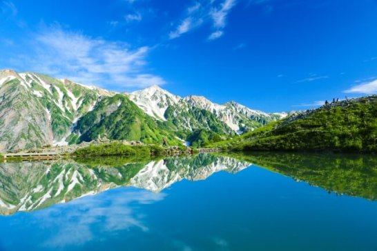 「日本で最も美しい場所※」の1つに選ばれた八方池 ※米国CNN発表