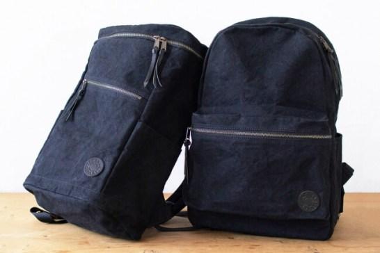 【新商品】綿でありながら撥水する生地で作られたバッグ。自衛隊テントの加工技術を応用。