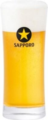 写真2. サッポロ生ビール黒ラベルの泡