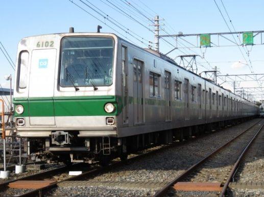 千代田線6000系車両が引退します