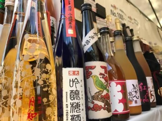 多種多様な全国の梅酒。
