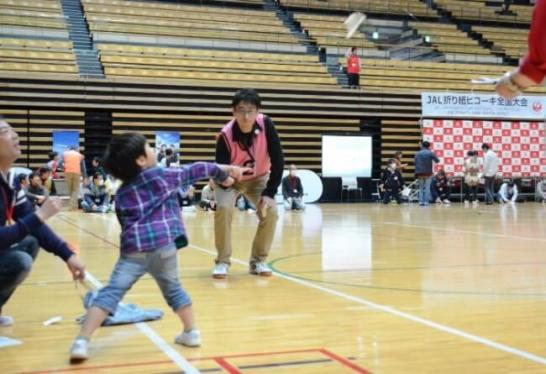 「第2回 JAL折り紙ヒコーキ全国大会」を開催