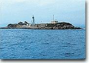 海上から見た第二海堡
