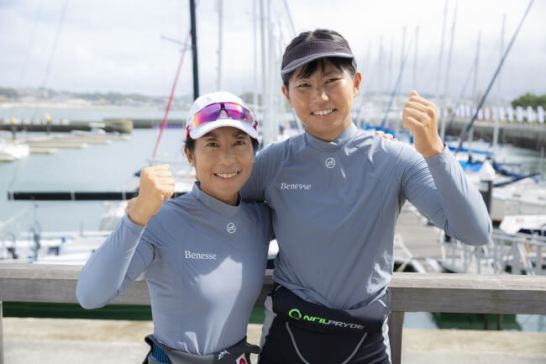 セーリング吉田愛選手&吉岡美帆選手