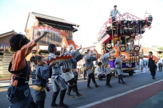 子どもから大人まで歴史を受け継ぐ佐倉の秋祭り