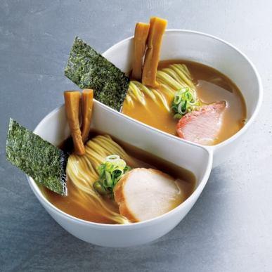 【札幌】漁ろ麺/きんき出汁ダブルラーメン 淡麗塩×濃厚味噌