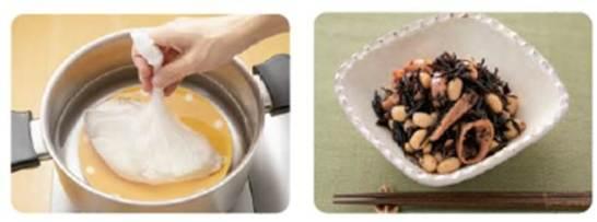 災害時に役立つ調理方法(お湯ポチャ調理&即食)レシピ例