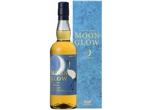 ブレンデッドウイスキー10年「MOON GLOW Crescent 2018」新発売