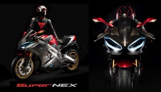 キムコ、EICMA 2018で 電動スーパースポーツバイク「SuperNEX」を発表