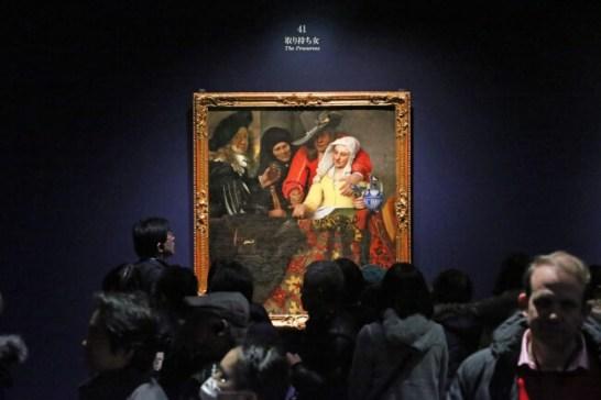 日本初公開されたヨハネス・フェルメール「取り持ち女」