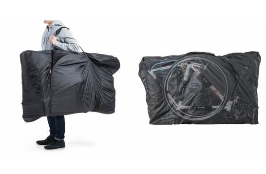 初心者でも簡単に収納できる自転車輪行バッグを2月18日発売