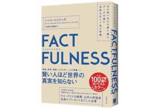 【世界100万部超】ビル・ゲイツ、バラク・オバマが絶賛した名著『FACTFULNESS(ファクトフルネス)』が、発売20日で20万部突破!Amazon総合1位に!