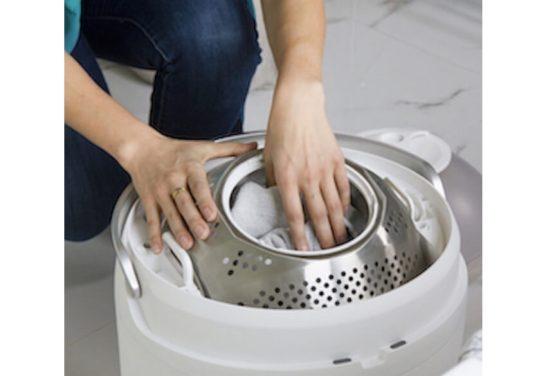 時短&エコな足踏み洗濯機「Drumi」
