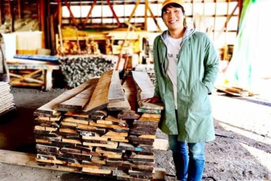 原木の仕入れから製材まで現地へ赴くこだわり