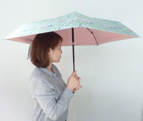 自動開閉折りたたみ日傘