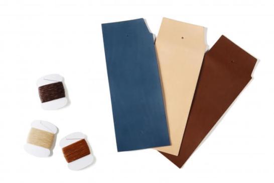 土屋鞄のワークショップ - 革のパスケース
