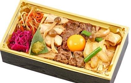 〈神田明神下みやび〉牛豚鶏 三種の肉丼