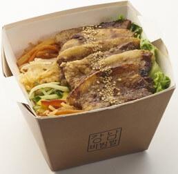 〈韓カルビ大雲〉サムギョプサルビビンバ 肉増量~焼肉の日バージョン~