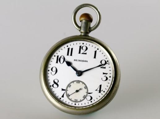 参考 初代鉄道時計