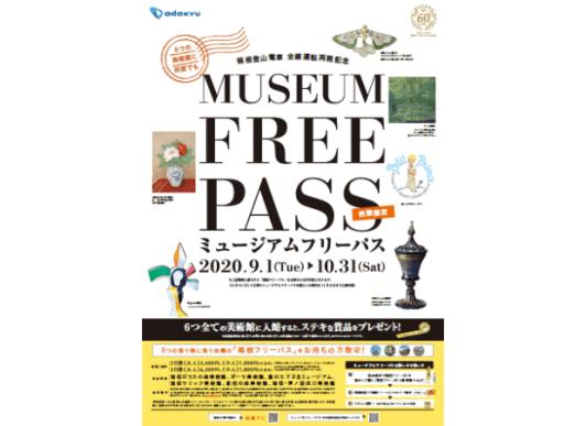 ミュージアムフリーパスのポスター - 箱根登山鉄道