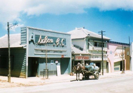 沖縄 ©光文社/新書『秘蔵カラー写真で味わう60年前の東京・日本』/J・ウォーリー・ヒギンズ