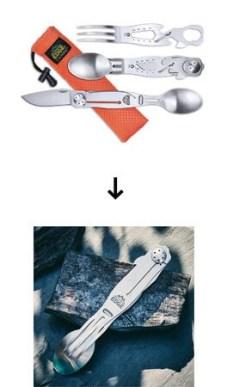 【災害の備えにも】1本に7つの機能、アウトドアマルチツール「ChowPal(チョウパル)」