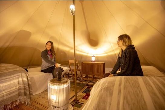 富士山独り占め!プライベートグランピング「MT. FUJI SATOYAMA VACATION」富士宮に3月22日オープン