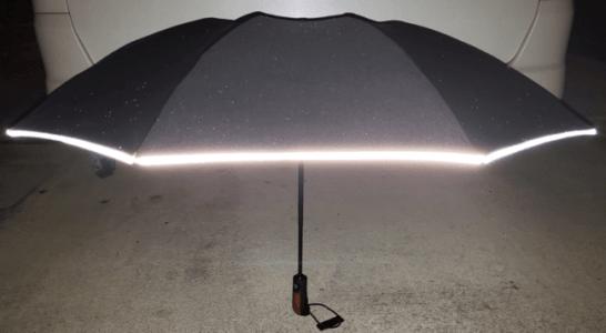 360°反射材で、暗い夜道も安心です。
