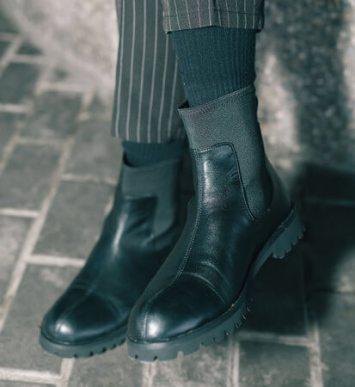 完全防水透湿のスニーカー&ブーツ「HENNIE」