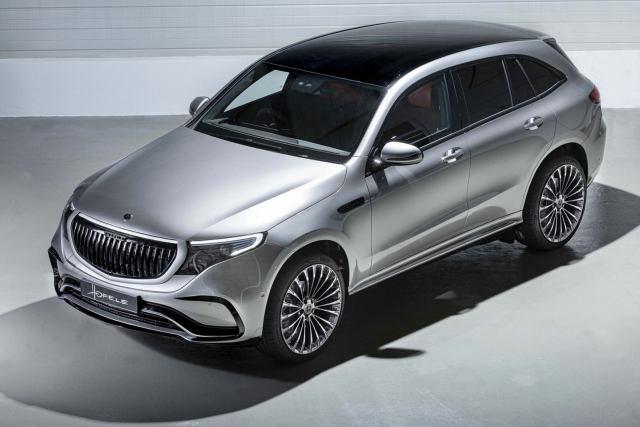 Дизайнерское решение для Mercedes-Benz EQC от Hofele Design