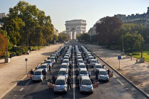 Рост количества зарядных станций во Франции