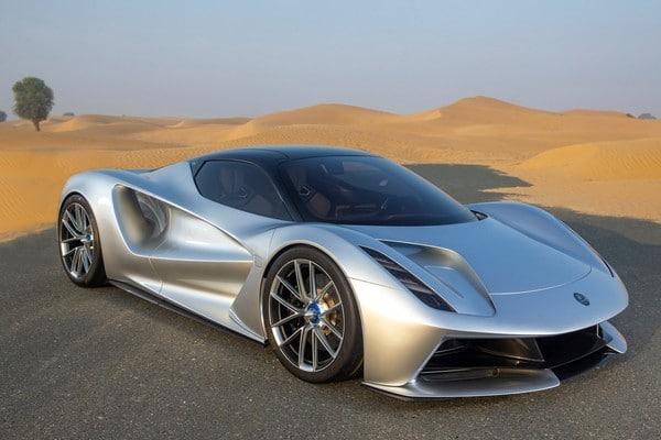 Суперкар Lotus Evija уже в продаже
