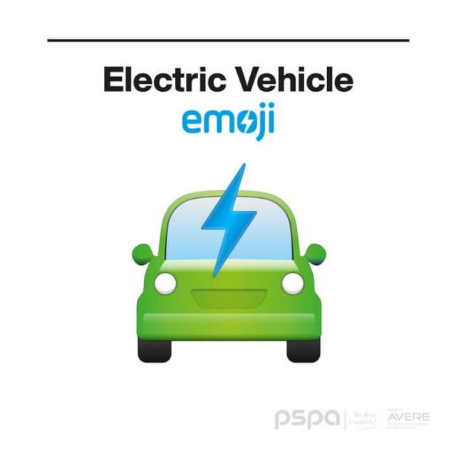 Пользователи смартфонов скоро увидят эмодзи электромобилей