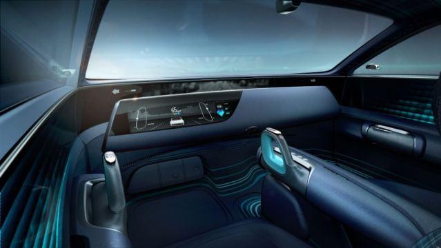 Инновационный интерьер концепта Hyundai Prophecy