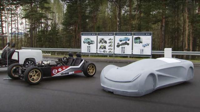 Белорусский ответ Tesla Roadster
