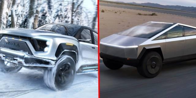 «Никола» против «Тесла»: сравнение электромобилей