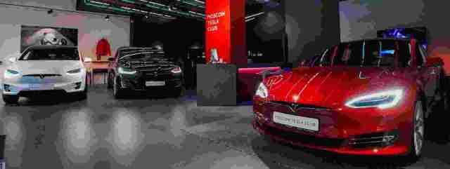 Стартовали тест-драйвы Tesla в Москве