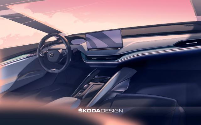 Серийный электрокар Skoda Enyaq iV получил новый дизайн