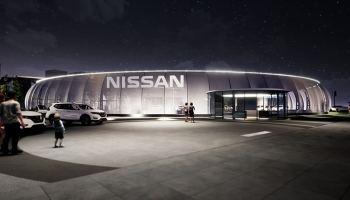 Павильон Nissan