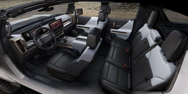 Подробности об электромобиле GMC Hummer EV