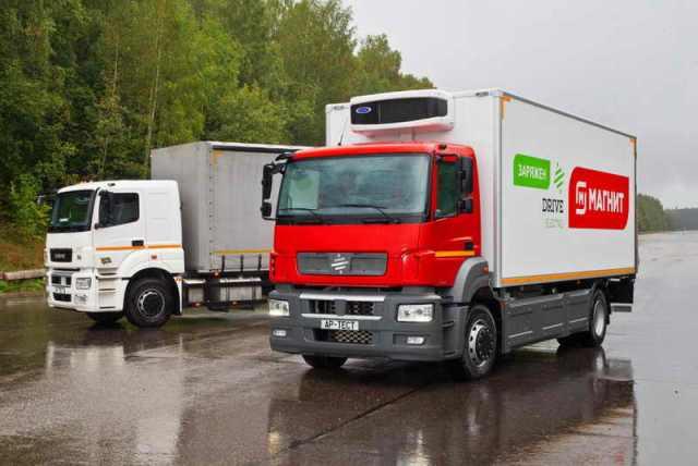 Сеть «Магнит» приобрели электрический грузовик
