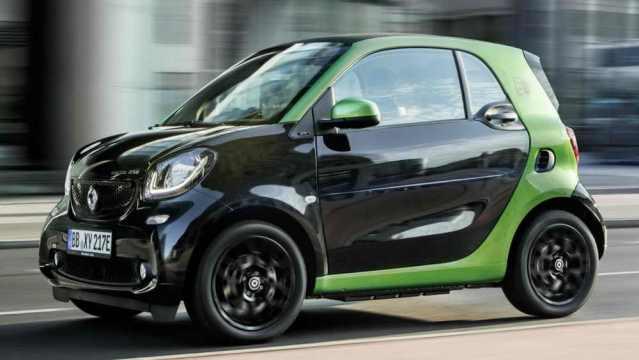 Обзор электромобиля Smart Fortwo