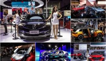 Электромобили в Шанхае Auto Shanghai 2021