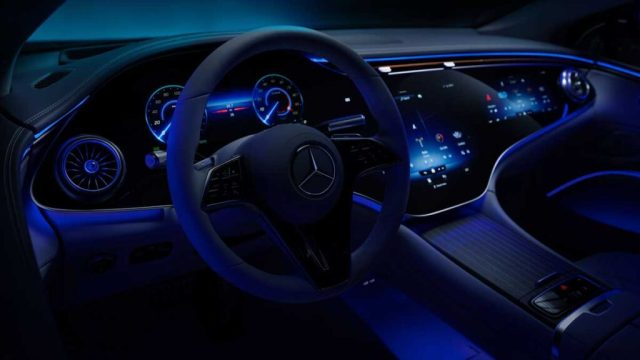 Mercedes-Benz EQS характеристики
